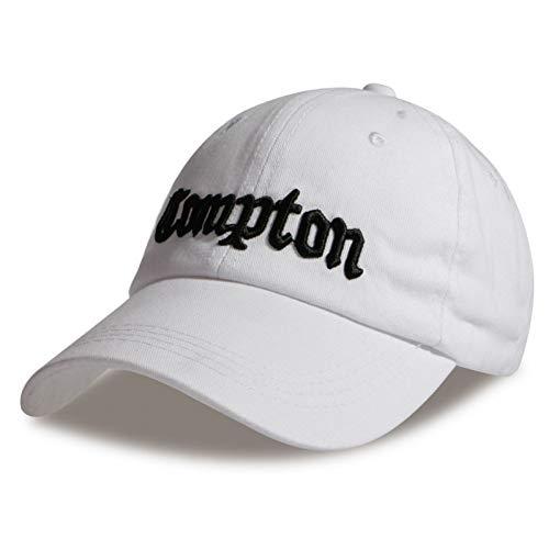 JKYJYJ Baseballmütze Compton-Skateboardmarken-Hysteresengolfhüte Für Männer Frauen Hip-Hop-Knochen
