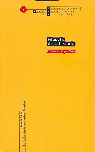 Filosofía de la historia: Vol. 05 (Enciclopedia Iberoamericana de Filosofía)