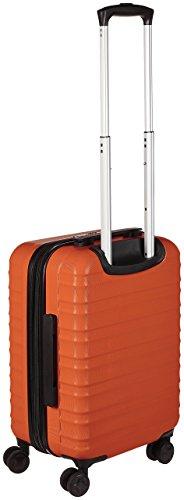 AmazonBasics Hartschalen-Trolley - 55 cm Kabinengröße, Orange - 3