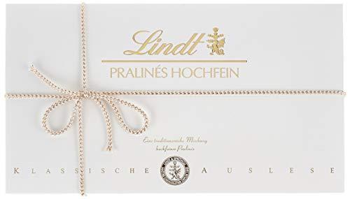 Lindt Lindt Pralinés Hochfein, klassische Auslese, 17 unterschiedliche köstliche Sorten, eine Auswahl an unvergleichlichen Pralinen Kreationen, 350g , 350 g