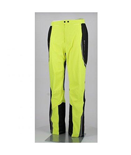 Held Pantalone Antipioggia Stretch Rainblock Base Giallo Fluo Nero, Tg. M