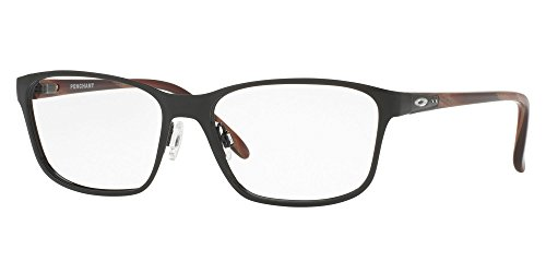 Ray-Ban Damen 0OX3214 Brillengestelle, Mehrfarbig (Polished Black), 53