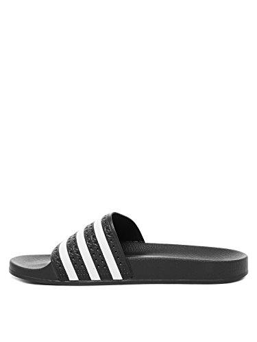 adidas Originals ADILETTE 280647, Sandali unisex adulto Nero(Schwarz)