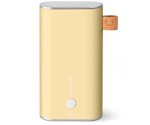 Fresh 'n Rebel 6.000 mAh - Powerbank (inkl. Micro-USB-Kabel und Handbuch - mit mehrfachen Sicherheitsfunktionen - Ladestatusanzeige) Gelb -