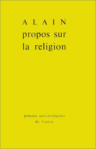 Propos sur la religion par Alain