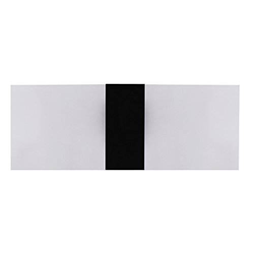 LED Wall Sconce Lights, 3W 14cm Super Bright Acrylic LED Wall Lamp Perfect for Decorative Living Room Bedroom Corridor LED Night Light Black Box Warm White Black Night Light