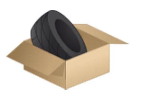Reifenkarton für 1 Reifen