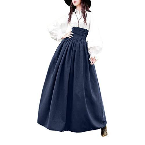Mujer Vintage Lolita Falda Gótica Steampunk Falda Princesa...