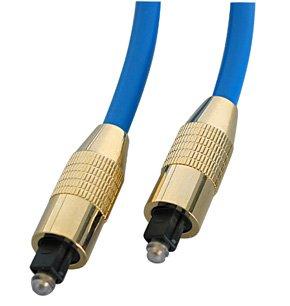 SPDIF Cable - TosLink, Premium Gold, 0.5m