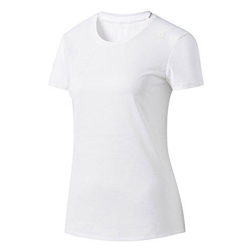 Adidas Running-shirt (adidas Damen Supernova T-Shirt, White, S)