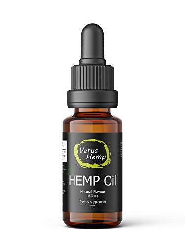 Hemp Oil Drops 15{00ec4129089fc802578c2d3ef32e5aa585c0050dd8eba1e0989e56d1f174d6e9} 1500mg 10ml | Strong High Quality | Organic and Natural Ingredients | Anti-inflammatory | Quick Relief from Stress, Anxiety and Pain | Suitable for Vegans & Vegetarians