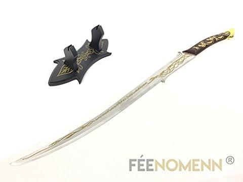 LE SEIGNEUR DES ANNEAUX - Réplique Épée ARWEN (version avec support)