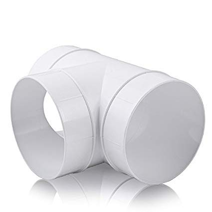 Blauberg EU 150 mm runde Kunststoff-Wickelfalzrohre und Formteile für Abluftventilator - Vent End Plug