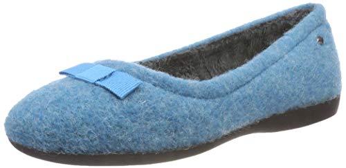 Romika Damen Lucille 01 Niedrige Hausschuhe, Blau (Aqua 590), 39 EU