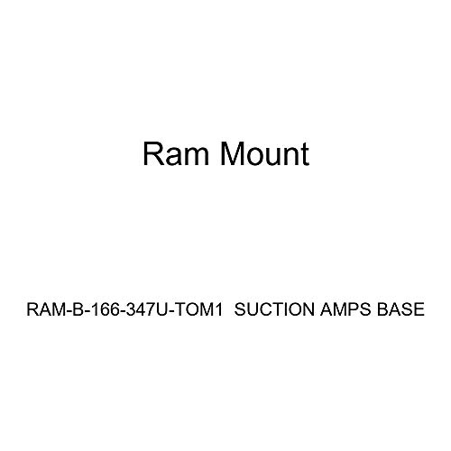 Ram Mounts UNPKD RAM Suction Mount AMPS Base, RAM-B-166-347U-TOM1 (Base) -