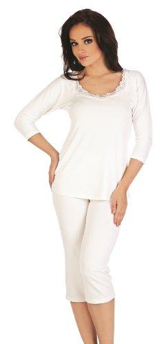 De Lafense Pyjama Femme 924 Ecri