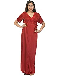f9ff90bdb2 Amazon.in  Silk - Nighties   Nightdresses   Sleep   Lounge Wear ...