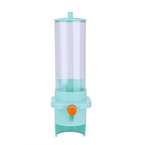 Dispensador de Taza de Agua Dispensador de Plástico Montado en Pared para Tazas de Papel y Vasos de Plástico (Azul Automático, 30 Tazas)
