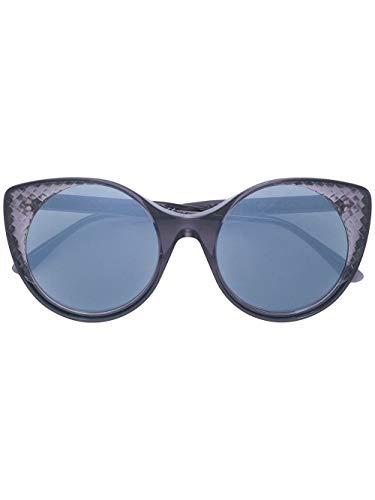 Bottega veneta luxury fashion donna bv0148s001 grigio occhiali da sole | autunno inverno 19