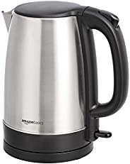 AmazonBasics Stainless Steel Electric Kettle - 1.7 Litre (2200 Watt)