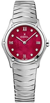 EBEL Ladies 1216487A Sport Classic & Stainless Steel Swiss Quartz W