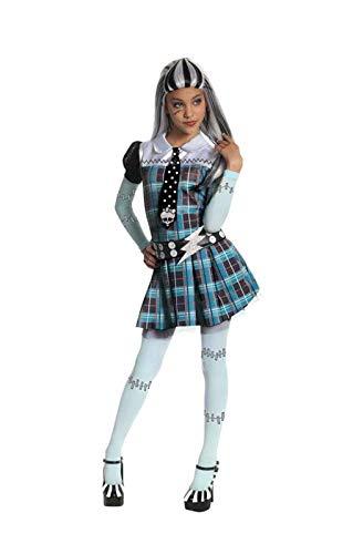 Horror-Shop Mädchen Kostüm Frankie Stein ()