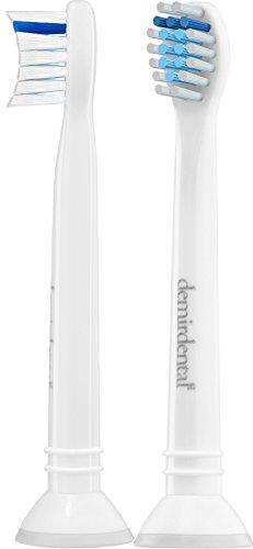 2er demirdental Sensitive Mini Ersatzbürsten für Philips Sonicare ProResults - DiamondClean FlexCare EasyClean PowerUp HealthyWhite,HX6082,hochwertige Aufsteckbürsten entwickelt und desi. in Berlin (Flexcare Ersatz Köpfe)