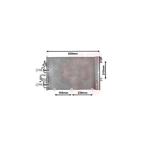 Preisvergleich Produktbild VAN WEZEL 37005366 Kondensator, Klimaanlage
