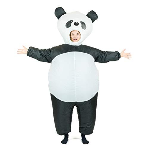Bodysocks® Aufblasbares Panda Kostüm für Erwachsene (Von Niedliche 4 Gruppen Halloween-kostüme Für)