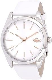 ساعة لاكوست مارين، انالوج للنساء، أبيض - 2001099