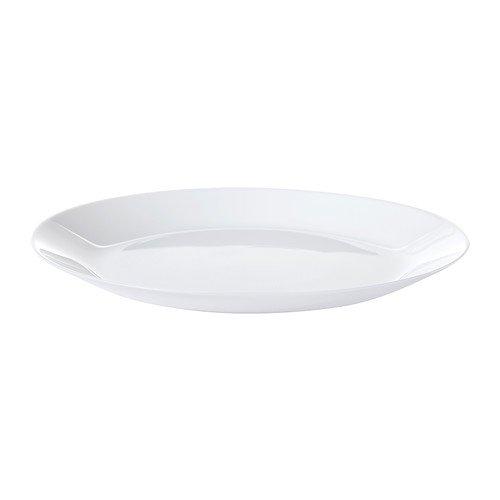IKEA OFTAST-Teller, 25 cm, weiß