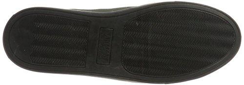 Armani Sneaker Low Cut, Scarpe Basse Uomo Grün (Dark Green 1861)