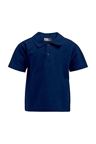 Premium Poloshirt Kinder Marineblau