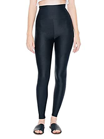 American Apparel Nylon Tricot High-Waist Legging - Black / M