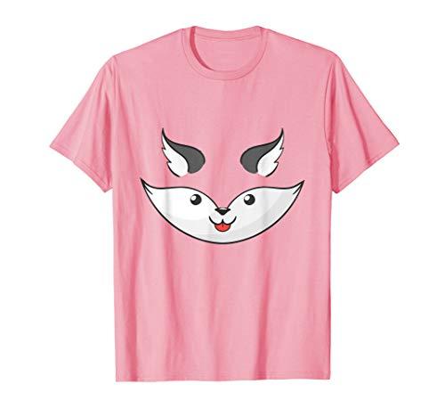 Lustig Mädchen College Kostüm - Lustige Fox Kostüm Halloween Weihnachten Geschenk T-Shirt