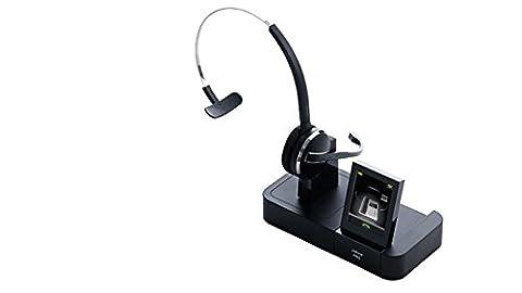 Jabra PRO 9460 Casque Convertible Mono sans Fil, Téléphonie Fixe et IP via USB, Antibruit