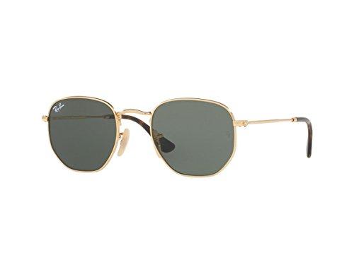 G-15 occhiali da sole verdi classici ray-ban rb3548n oro