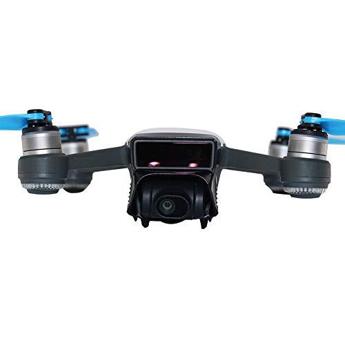 cuffslee Sun Hood Objektivdeckel Hood Für DJI Spark Blendschutzhülle Gimbal Sun Shade Lens Hood Drone Kamera Objektiv -
