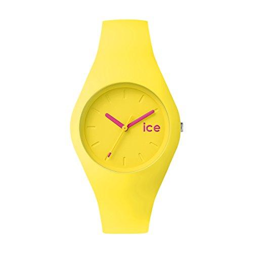 Ice-Watch - Ice Ola Neon yellow - Gelbe Herrenuhr mit Silikonarmband - 001231 (Medium)