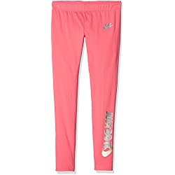 Nike Girls' Sportswear Favorite JDI Mallas, Niñas, Sea Coral, XL
