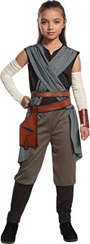 Kinder Kostüm Rey - Generique - Rey-Kostüm Star Wars für Kinder 128/140 (8-10 Jahre)
