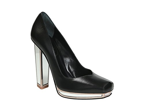 Saint-Laurent-mirror-heels-pumps-in-black-Leather-Model-number-306640-AKCY0-1067