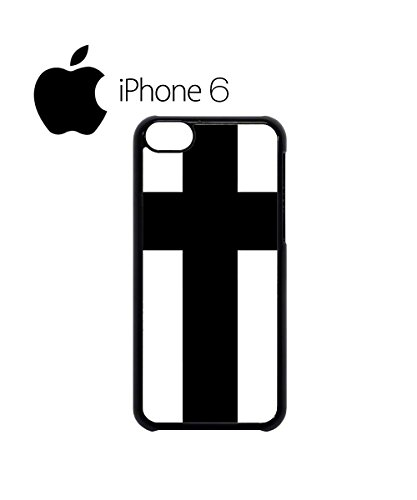 Cross Religion Cool Swag Mobile Phone Case Back Cover for iPhone 6 Black Blanc