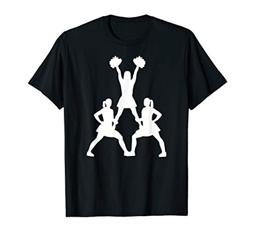 Cheerleader Pyramide T-Shirt -
