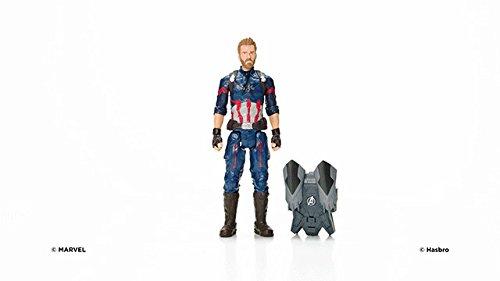 Marvel- Titan y Mochila Power Fx Capitán América (Hasbro E0607105) 3