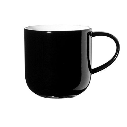 ASA 19100/014 Coppa Henkelbecher 0,4 L, 9,5 x 9,2 cm, schwarz