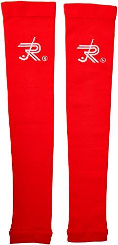 Reno 514.RL Manguitos Compresivos, Unisex Adulto, Rojo, XL