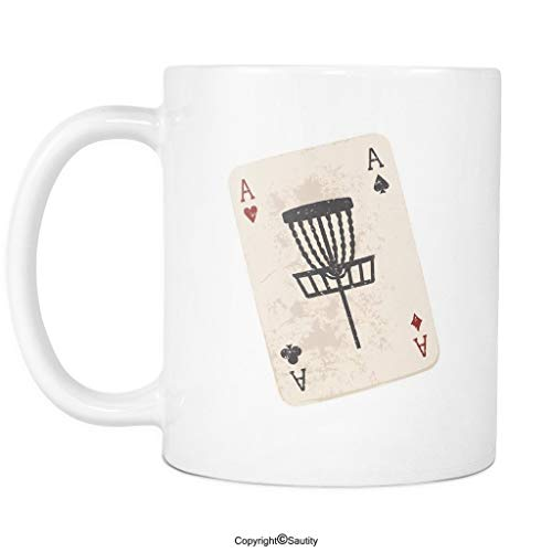 lor Graphic - Funny Disc Golf Coffee Mug Cup by ()
