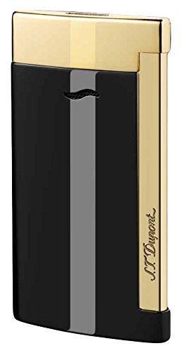 st-dupont-slim-7-lighter-black-gold