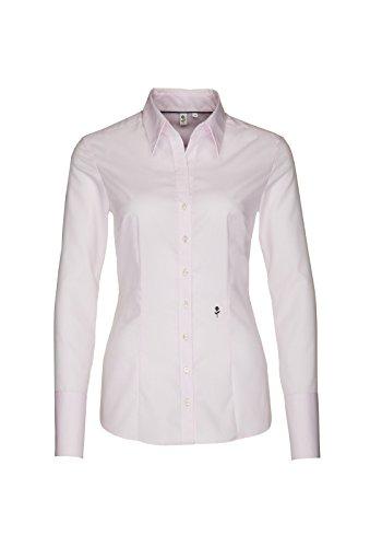 Seta adesivi rosa nera-camicia da donna City 1/1-lungo (60.080613) Rosa(45) 46